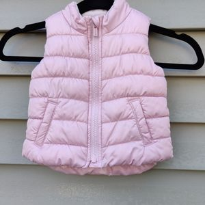 Old Navy vest for baby girl